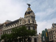 Das Metropolis-Haus in Madrid